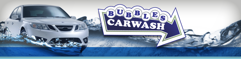 Bubbles Car Wash header